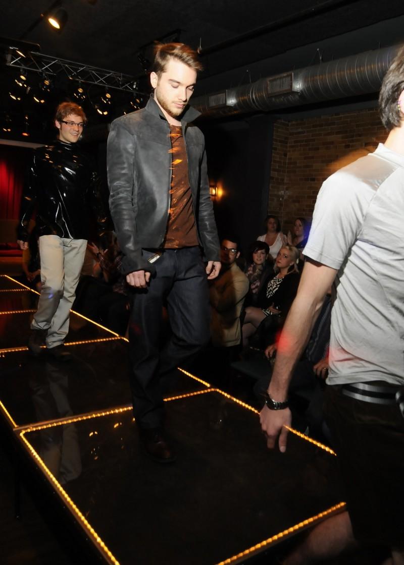 Northside fashion show runway walk