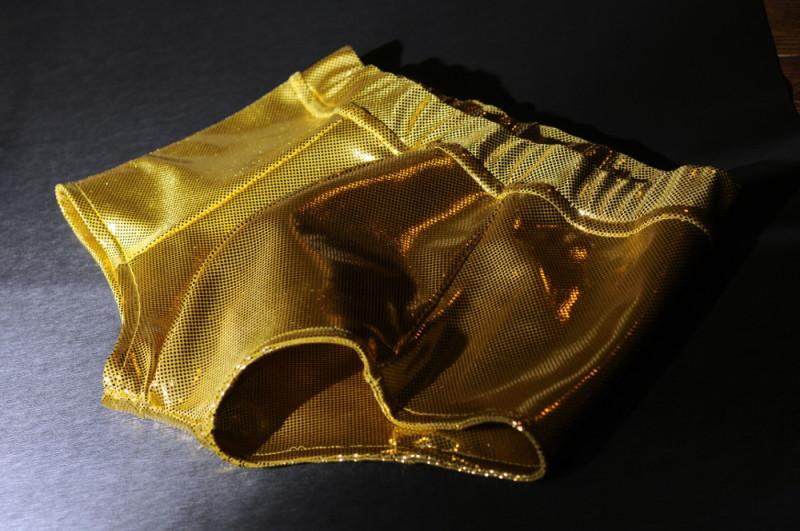 golden swimsuit or underwear