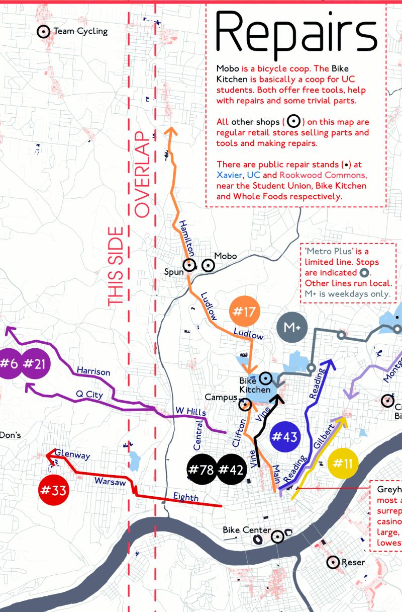 Cincinnati Bike Map